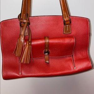 Dooney & Bourke red shoulder purse